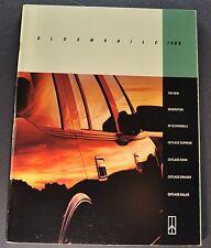 1990 Oldsmobile 48pg Brochure Cutlass Supreme Ciera Calais, Wagon Orig Canadian