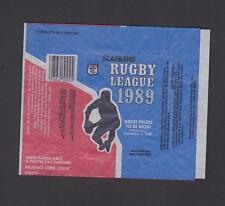 1989 SCANLENS WRAPPER
