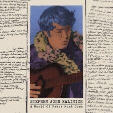 Stephen John Kalinich World Of Peace ORANGE VINYL LP Record Brian Wilson RSD NEW