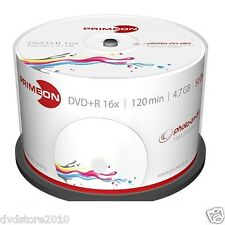 1000 PRIMEON DVD+R Stampabili 4.7GB 120 Minuti 16X Cake Box Print Inkjet 2761226