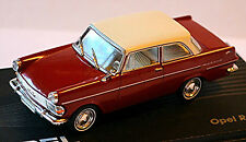 Opel Rekord P 2 Limousine 1960-63 rot Dach weiß / red Roof white 1:43 Ixo