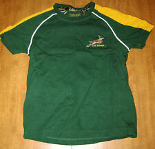 SOUTH AFRICA National Rugby Springboks jersey 5-6 youth med Springbokke SA sewn