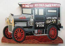 Coca Cola Wood Delivery Truck by Shelia's - NIB - 1998