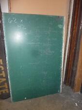 "antique Original circa 1920's schoolhouse Slate chalkboard 62 x 42"" , Utica, Ny"