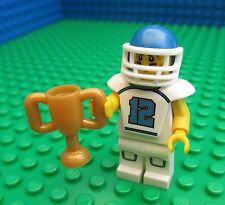 Lego NFL Football Grid Iron Player Minifig City Trophy 8833 Minifigures Series 8