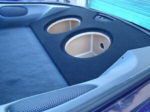 "1993-2002 CAMARO FIREBIRD TRANS AM SUB BOX Subwoofer Enclosure 2-12"" (type 2)"
