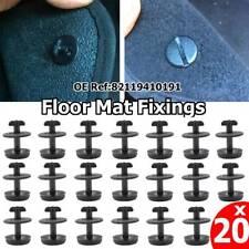 20 xSET Twist Lock Floor Mat Carpet Clip For BMW MINI Screw Fixing 3 5 7 8 X3 X5