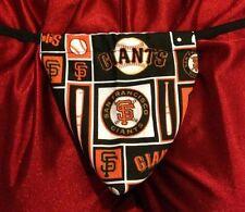 Mens SAN FRANCISCO GIANTS Mlb Baseball Gstring Thong Underwear Male Lingerie