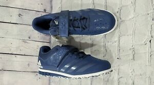 NEW Adidas Powerlift 3.1 Weightlifting Training Shoes Navy White CQ1772 MENS 15