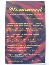 Mark Valentine [Ed.] - WORMWOOD No. 6 (Spring 2006) – Tartarus Press
