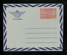 Postal Stationery Canada H&G #Fg12 Uni #Ua11 Airmail letter sheet 1950/1953