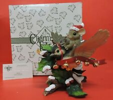 Fitz & Floyd Charming Tails Holly Jolly Friend Figurine 98/231