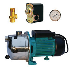 """IBO1""""AJ50/60 Booster PUMP1.1kW + vessel expansion fittings,gauge,pressure switch"""