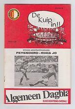 Orig.PRG  1.Liga Niederlande / Eredivisie 1983/84  FEYENOORD ROTTERDAM - RODA JC
