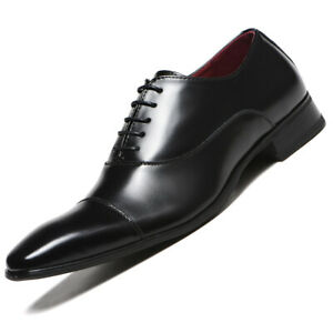 Business Style Mens Faux Leather Pointed Toe Shoes Formal Dress Oxfords Oversize