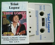 Trini Lopez Self Titled inc Granada & La Bamba + Cassette Tape - TESTED