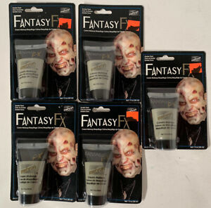 Mehron Fantasy FX Water Based Professional Make-Up in a Tube - Zombie Flesh Grey