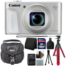 Canon Powershot SX730 HS Digital Camera Silver with Accessory Kit