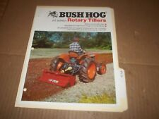 PY28) Bush Hog Sales Brochure 4 Pages - RT Series Rotary Tiller
