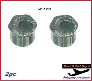For F350 S Duty Front RWD 3-1/4 Degree Positive Camber Bushing SET MOOG K8983