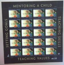 Mentoring A Child Setting Goals 34¢ Usps 20 Postage Stamps New 2000