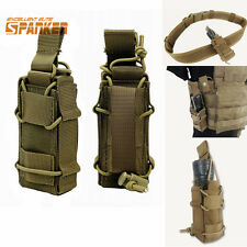 1000D Tactical Molle Pistol Magazine Mag Pouch Flashlight Holster Bag For Vest
