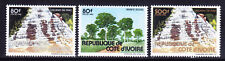 IVORY COAST 1982 SG751/3 Landscapes - superb unmounted mint. Catalogue £60