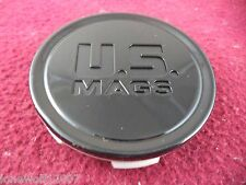 U.S. Mags Wheels Gloss Black Custom Wheel Center Cap Caps # M-1027 BK01 (1 CAP)
