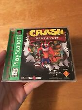 Crash Bandicoot Sony PlayStation 1 Complete. Excellent Overall Shape. AUTHENTIC