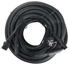 Cable Hibrido DJ PA Conectore XLR DMX IEC Altavoces Monitores Alimentacion 15m