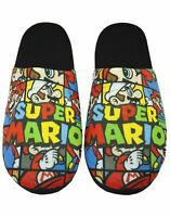 Super Mario Bros All Over Print Men's Slippers