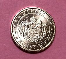 1 Cent MONACO 2001 - Erstprägung - RARITÄT - Euromünzen aus Euro-KMS  #2