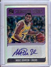 Magic Johnson 2018-19 Donruss Signature Series Auto A LA Lakers #SG-MJS