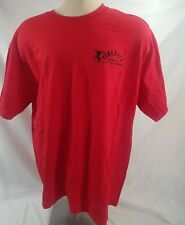 Brand new Fireball Whisky T-Shirt Black Red size XL  COTTON