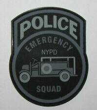 New York State City Police ESU Emergency Service PVC Morale Patch NYPD SWAT H&L