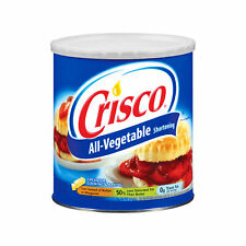 Crisco Shortening grandes graisse VEGETAL Beurre Margarine 1 3 kg