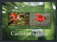 Mustique Grenadines St Vincent 2018 MNH Caribbean Birds 2v S/S Ibis Stamps