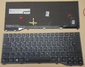 Tastatur Fujitsu Siemens LifeBook U747 E548 LED Backlit Beleuchtung Keyboard DE