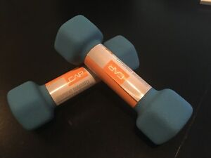 NEW CAP Neoprene Hex 2 Lb Dumbbells Hand Weights - Fast Free Shipping 💪