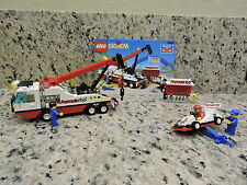 Lego Town Race F1 Hauler (6484) Complete Set & Instructions