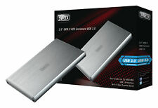 "Sweex Silver Hard Disk Drive Enclosure USB 3.0 2.5"" External SATA HDD Case Caddy"