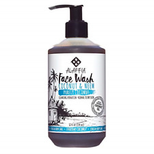 Alaffia - Purely Coconut Face Wash, Normal to Dry Skin, Cleansing Support to and