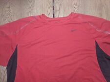 Nike Red Dri-Fit Active Exercise Shirt Size S Small pre-owned