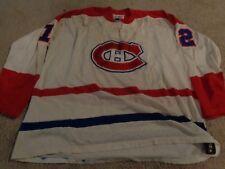 VTG JERSEY GUNZO'S MONTREAL CANADIENS COURNOYER #12 46 MEN 60S NHL SEWN DURENE