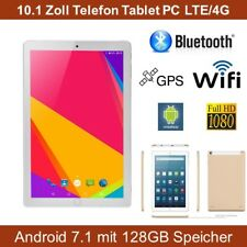 Elebest 128GB 10.1 ZOLL Tablet PC,WLAN,LTE,4G,GPS,Android 7, Telefon Tablet