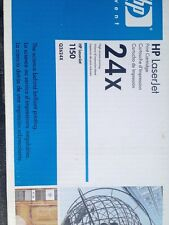 New Genuine HP Laser Jet Q2624X 1150 24X Toner Black Laser Cartridge OEM