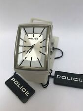 Police Watch 'Vantage' in white rubber PL13077 - Ex Shop Stock