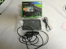 Garmin NUVI 50 LM GPS With All Accessories States Maps