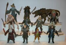 The Hobbit Figures Lot - Bridge Direct - Lord of the Rings