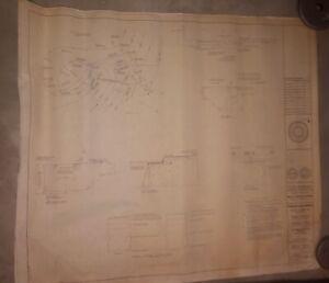 Veterans Stadium Vintage Blueprint - Philadelphia Eagles - Philadelphia Phillies
